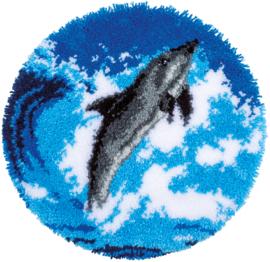 Dolfijn Knooptapijt Vervaco