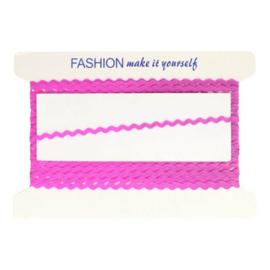 080 knal roze Zigzagbandje 5mm - MMJZ