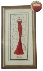 Rood Avondkleed Vervaco Telpakket