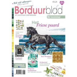 Borduurblad editie  84