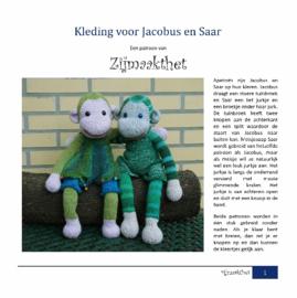 Kleding voor Jacobus en Saar Patroonboekje ZijMaaktHet