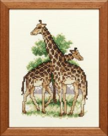 2 Giraffen Aida telpakket - Pako