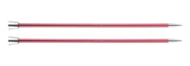 6.5mm Zing 40cm Breinaalden met Knop KnitPro
