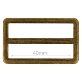 40mm Gesp metaal Bronze