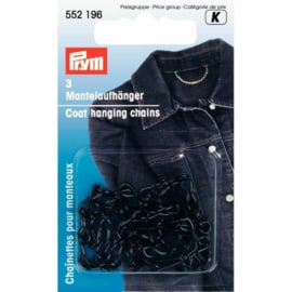 552196 Zwarte Ijzeren  Mantelhangers Prym