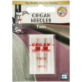 80/2 Tweeling Naalden Organ Needles