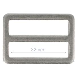 32mm Gesp metaal Oud Zilver