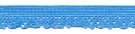 Licht Blauw 12mm Elastisch Kant