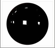 4mm Zwarte Veiligheidsogen, 1 paar