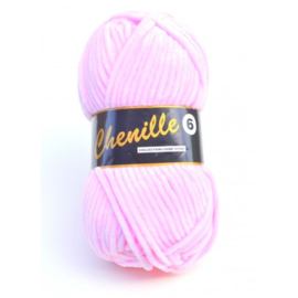 710 Powder Pink Chenille 6 Lammy Yarns