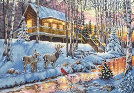 Winter Cabin Aida Telpakket Dimensions