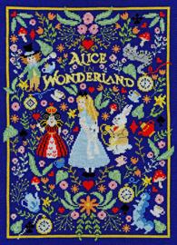 Alice in Wonderland -Through the Looking Glass Aida telpakket - Bothy Threads