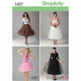 1427 D5 Petticoats Simplicity maat 30-38