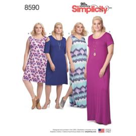 8590A Simplicity maat 1XL - 5XL