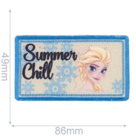 Elsa Summer Chill Frozen Opstrijkbare Applicatie