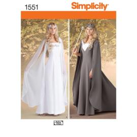 1551 KK Misses' Costumes Simplicity 34-40