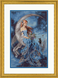 Wind Moon Fairy Aida borduurpakket - Dimensions