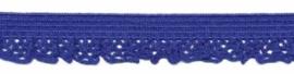Kobalt Blauw 12mm Elastisch Kant