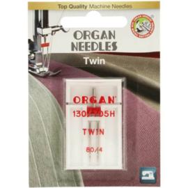 80/4 Tweeling Naald Organ Needles