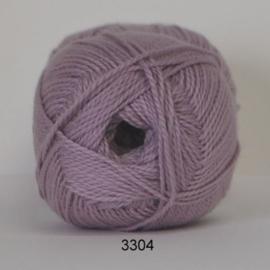 3304 Blød Bomuld Hjertegarn