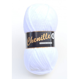 005 Snow White Chenille 6 Lammy Yarns