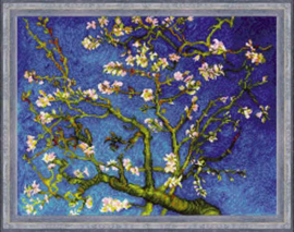Almond Blossom after Vincent van Gogh's Painting Aida Borduurpakket Riolis