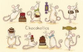 Chocoholics Aida Bothy Threads Telpakket