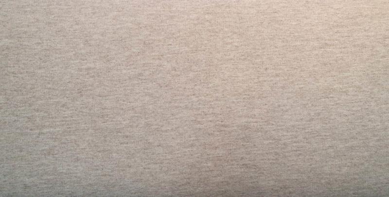 306 Melange beige Joggingstof Brushed