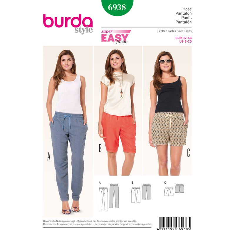 6938 burda easy