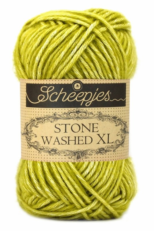 852 Lemon Quartz Scheepjes Stone Washed XL