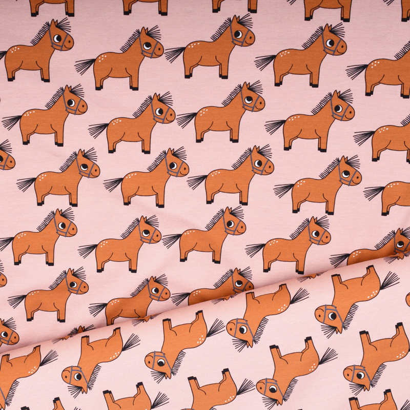 Pony Tricot Cotton Jersey - Eva Mouton