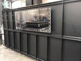 Hdpe Vijver met een polycarbonaat raam (LXBXH) 10mm