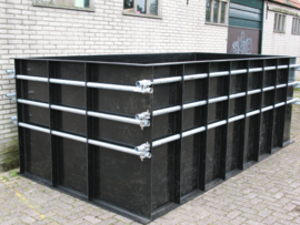 Hdpe Vijver 4000 x 2000 x 1500 (LXBXH) 10 mm