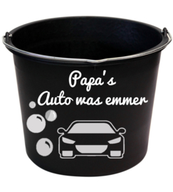 Papa's auto was emmer