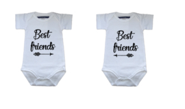 Set rompers BEST FRIENDS