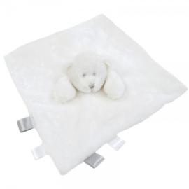 knuffeldoek beer met labels