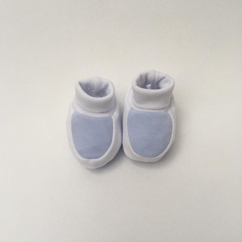 Slofjes blauw