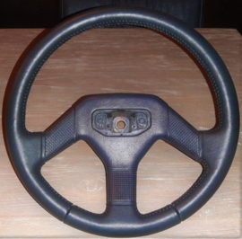 Black Leather Steering Wheel Phase 2