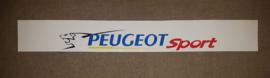 Peugeot Sport Front Windshield Sticker