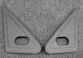 Set mirror covers Peugeot 205 PH2