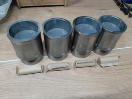 Peugeot 205 TU24 pistons and liners