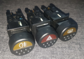 Peugeot 205 PH1.5 and PH2 dashboard switches