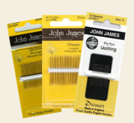 John James_Quilting Needles