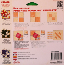 Sew Easy Template_Pinwheel Magic