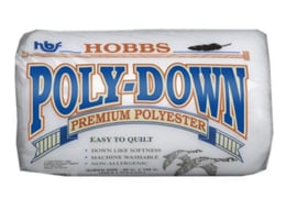 Poly-down