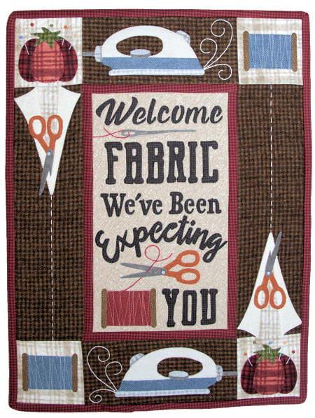 Welcome Fabric_Kit