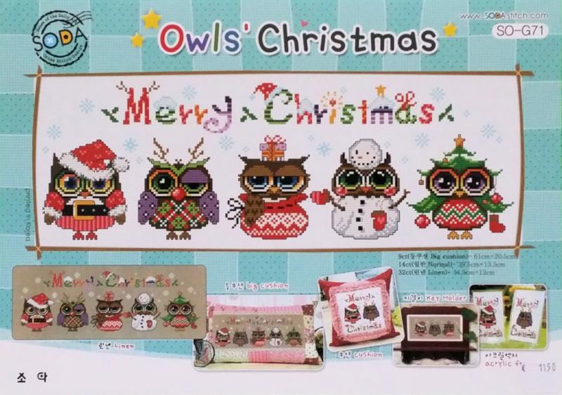 Owls Christmas