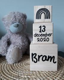 Stapelblokken | Geboortegegevens