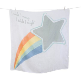 Lulujo Baby's first blanket 'I wish I may'