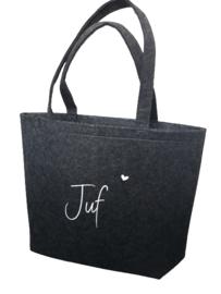 Luxe vilten tas | met binnenvakje